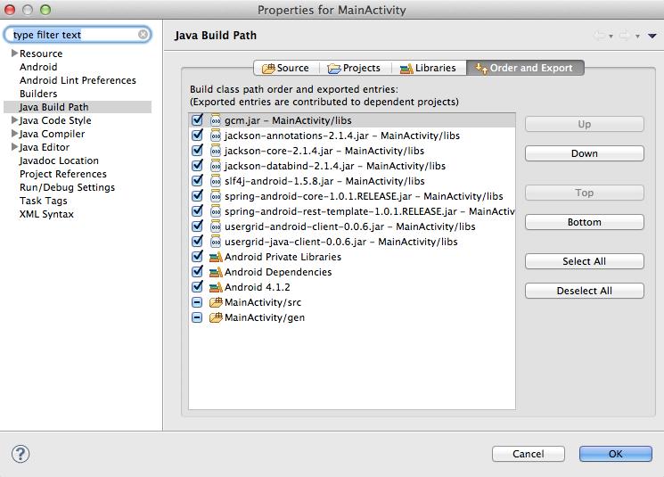 Tutorial: Push notifications sample app — Apache Usergrid 2 x